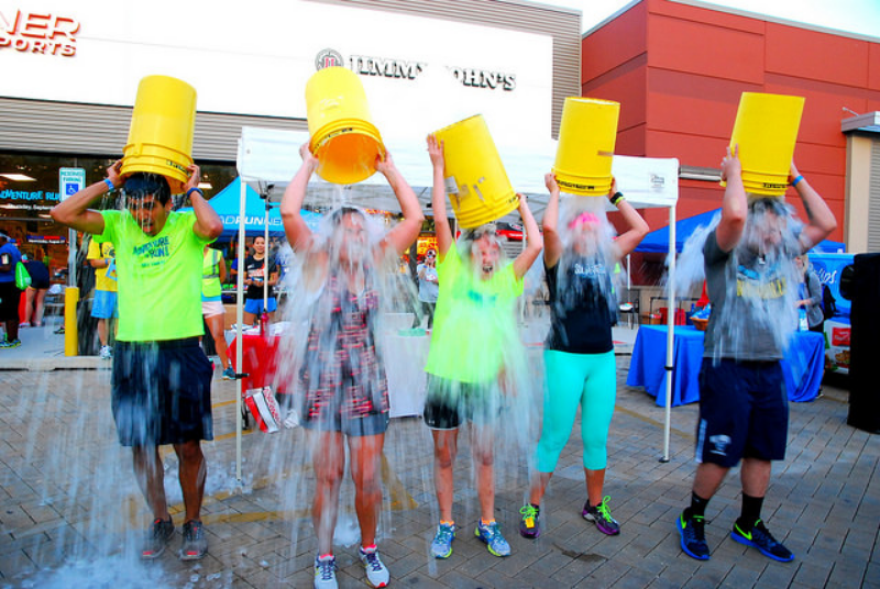 ice bucket challenge for businesses