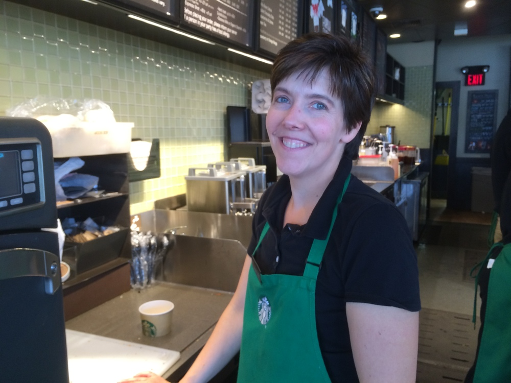 Carrie O'Neill, Newtonville Starbucks