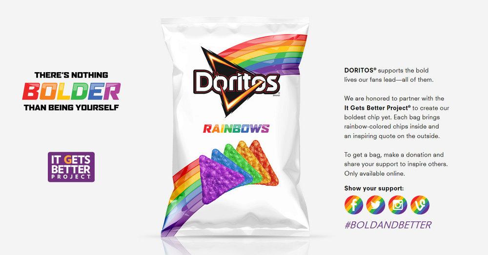 doritos supports lgbt youth