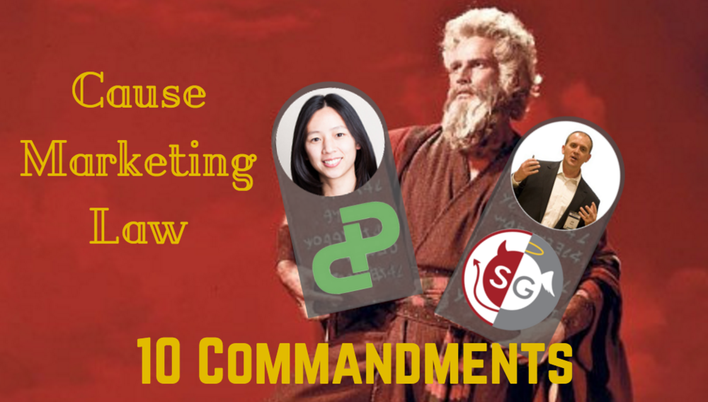 10 commandments of cause marketing law