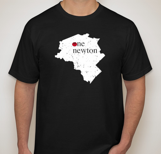 This shirt benefits the victims of the West Newton Car Crash at Sweet Tomatoes Pizza.