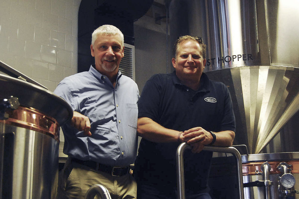 Kevin Finn & Mark Edelson, Iron Hill Brewery & Restaurant