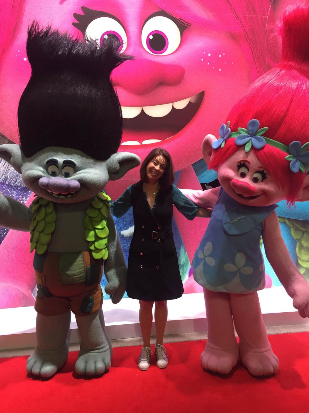 Rachel Leber of Be Well Brands and two friends!