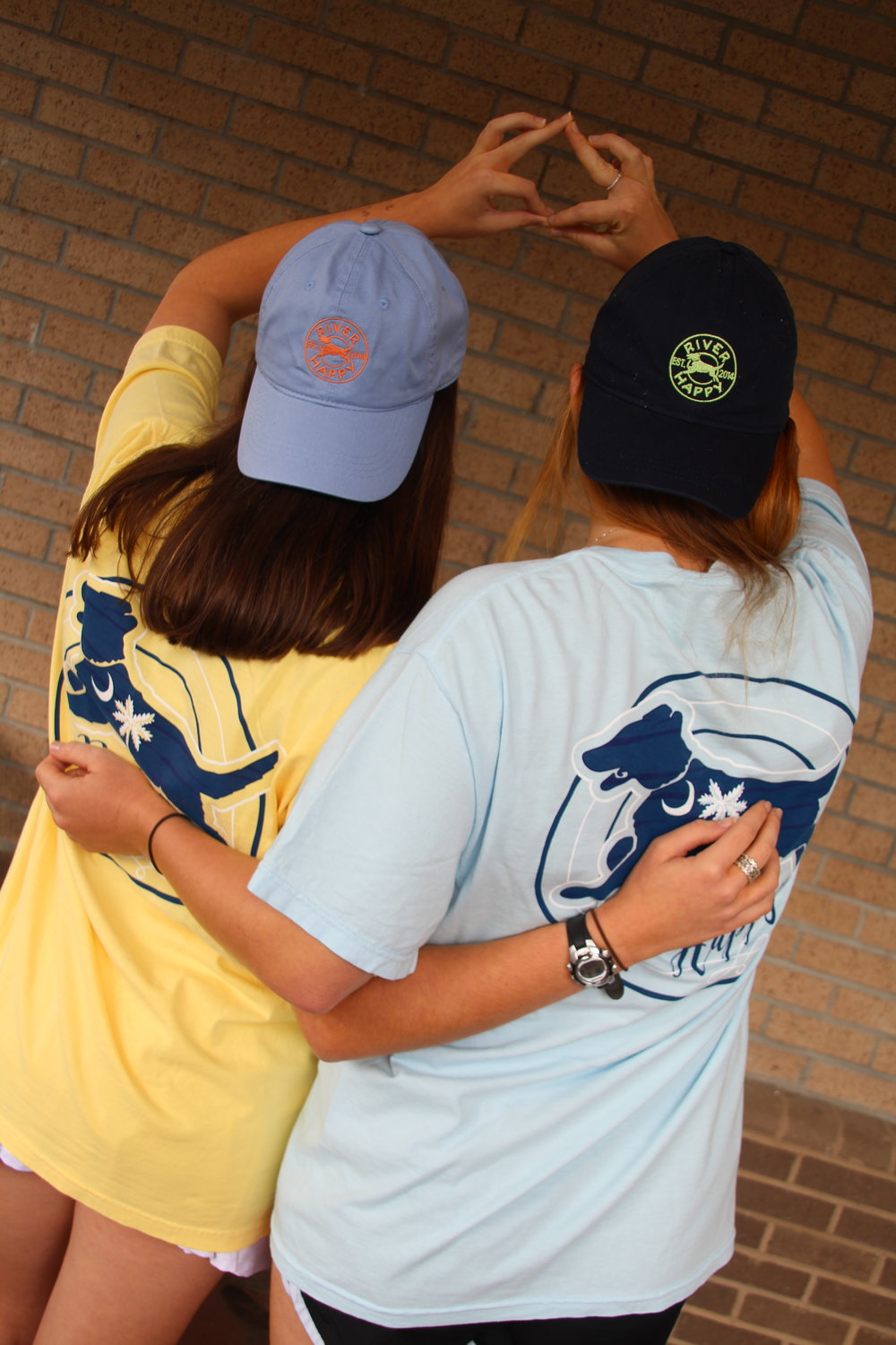 Phi Mu sorority worked with clothing company River Happy to raise money for CMN with PurPics.