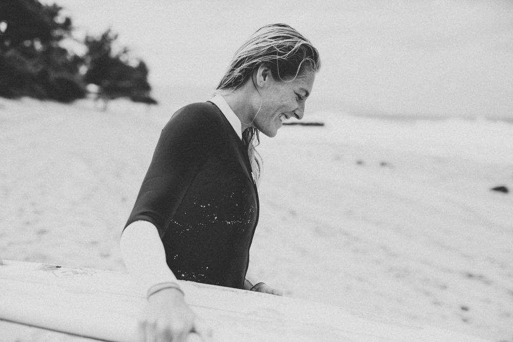 Stephanie Gilmore, Oahu, 2014.