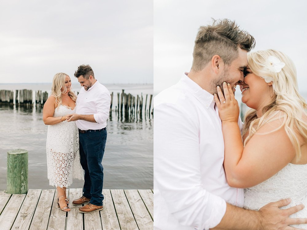 An Engagement Session by the Water in Family Boatyard with Puppy by Magdalena Studios_0002.jpg