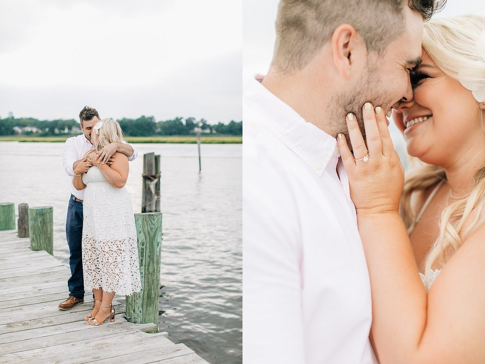 An Engagement Session by the Water in Family Boatyard with Puppy by Magdalena Studios_0005.jpg