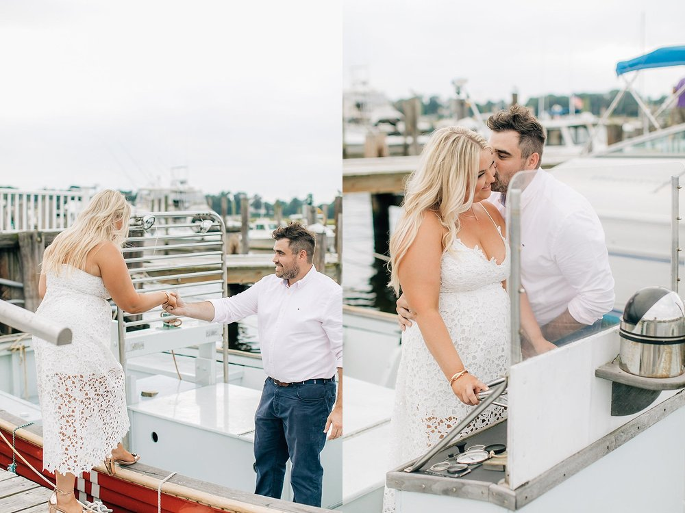 An Engagement Session by the Water in Family Boatyard with Puppy by Magdalena Studios_0008.jpg