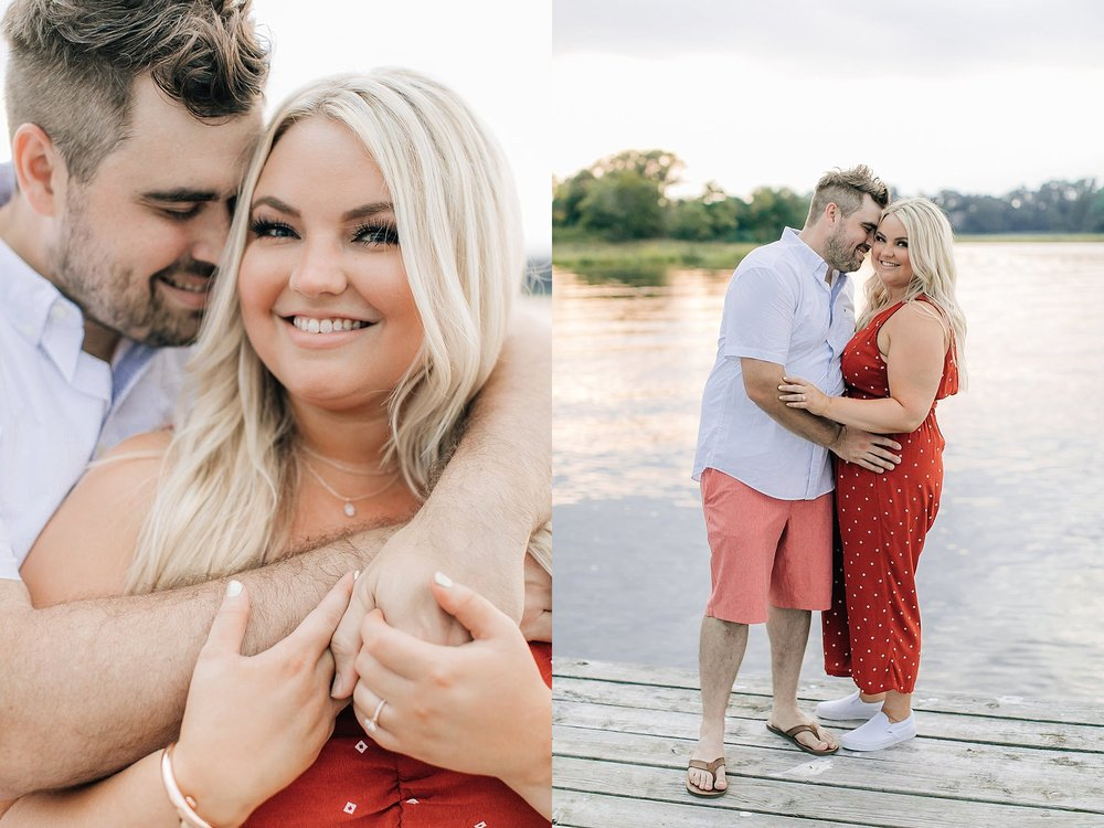 An Engagement Session by the Water in Family Boatyard with Puppy by Magdalena Studios_0015.jpg