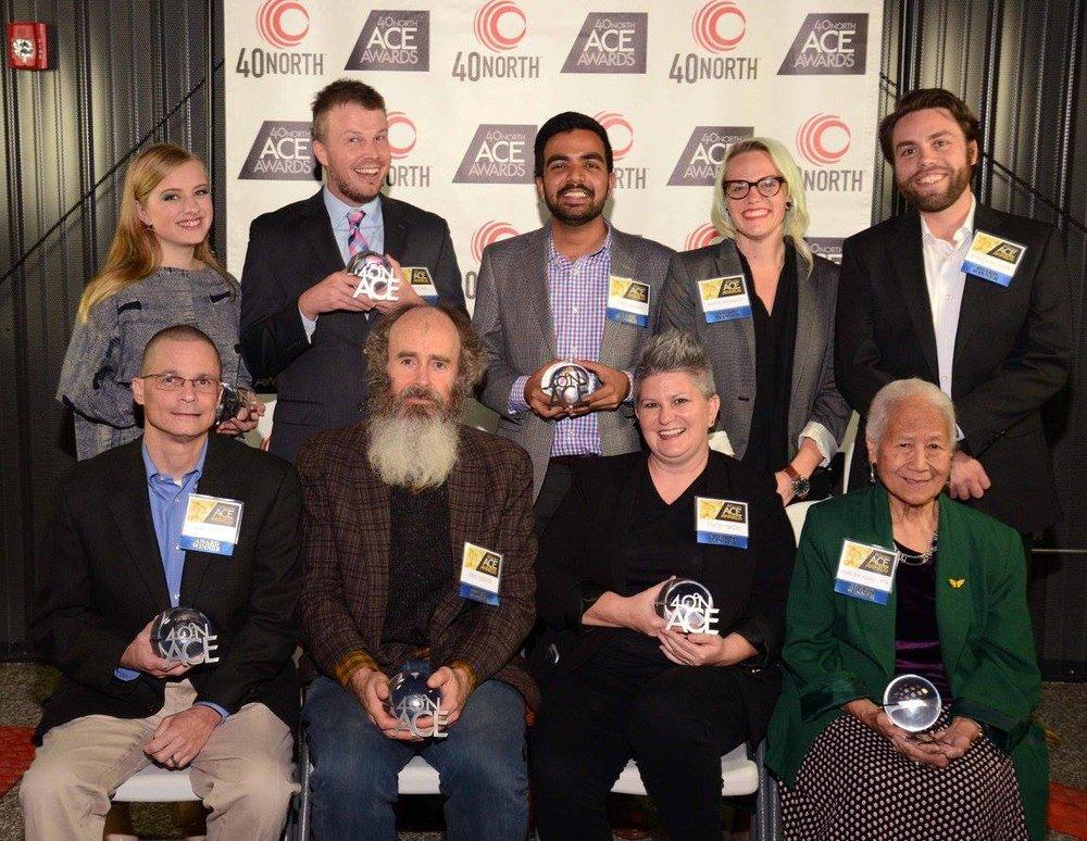 The award winners!
