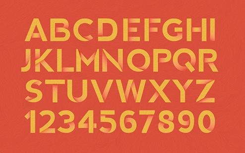 Chris Cureton - Sum Art Show Typography