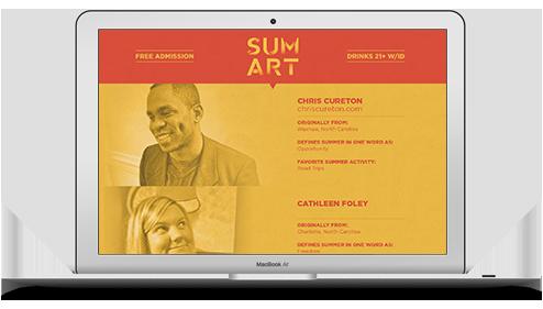 Chris Cureton - Sum Art Show