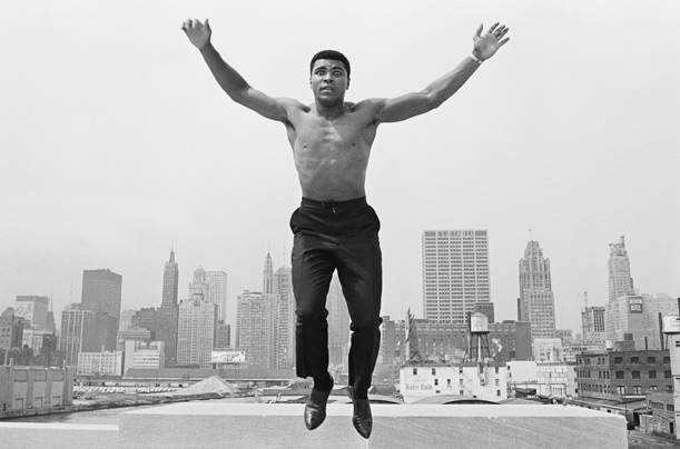 Design Greatness - Muhammad Ali on Roof