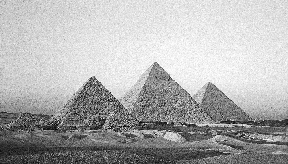 Design Greatness - Pyramids of Giza Pyramids