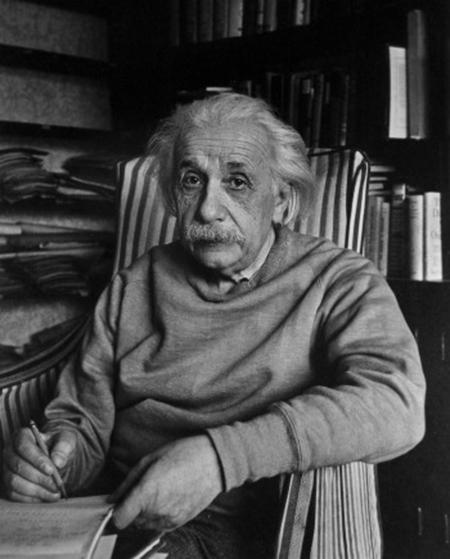 Design Greatness - Albert Einstein Writing
