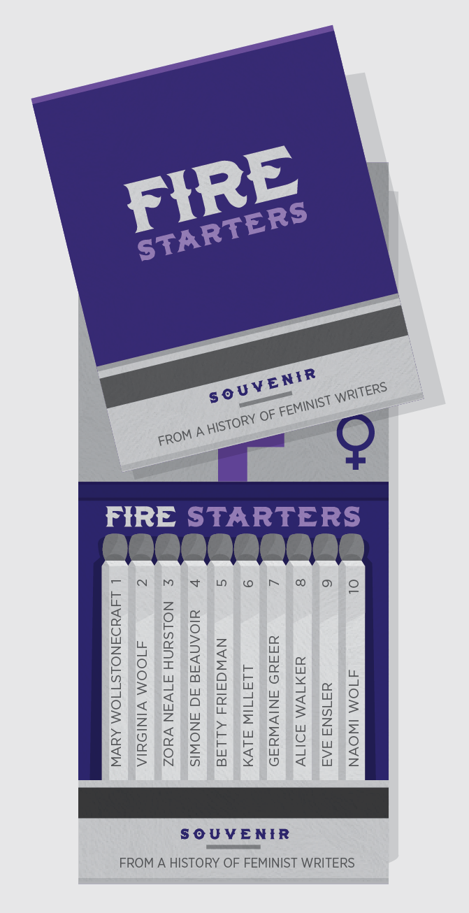 Fire Starters - History of Feminist Writers