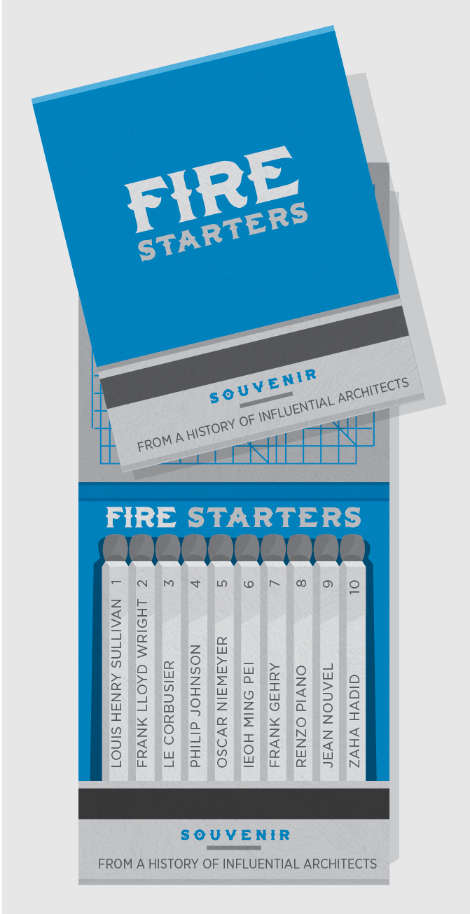 Fire Starters -  Influential Architects