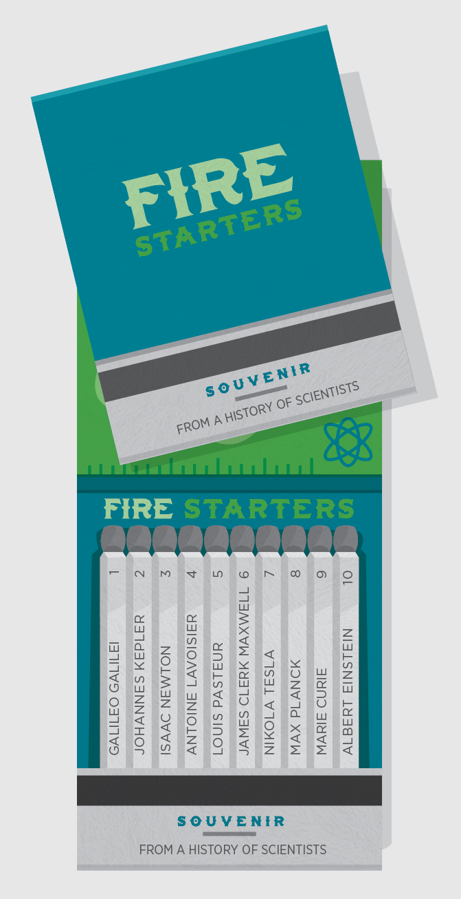Fire Starters -  History of Scientists