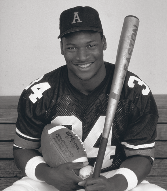 Design Greatness -  Bo Jackson Football & Baseball