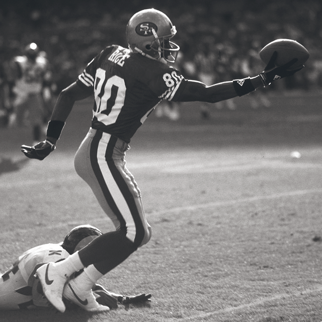 Design Greatness - Jerry Rice Catch