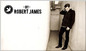 BY ROBERT JAMES – simple, honest, handsome.