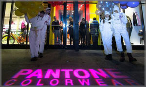 PANTONE COLORWEAR – NYFW Street Team