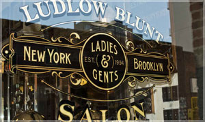 LUDLOW BLUNT – traditional English barber shops