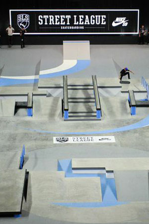 STREET LEAGUE SKATEBOARDING As the first-ever global professional league for street skateboarding, Street League Skateboarding (SLS) was created to foster growth, popularity, and acceptance of street skateboarding worldwide. At each stop of the Tour, world-famous arenas are transformed into custom concrete skate plazas, challenging the pros to be innovative and take skateboarding to new highs as they compete for the largest purse in skate history – more than $1 million dollars. SLS is now televised by FOX Sports and its network of affiliates.  learn more