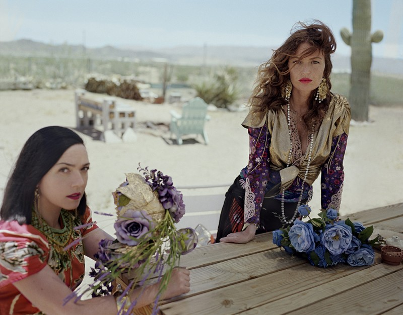 """BRIGETTE   Sensual Miami roller-disco from the Paris duo Brigitte, aka the disco-charged Parisien duo Sylvie Hoarau and Aurélie Saada, seek to tap into the era of Studio 54 to find a gaze that was not filtered through male eyes only for J'sais Pas. """"We wanted to show a feminine view about sex and women: something hypnotic, sen- sual, but not vulgar. We women like to see a sexy girl too. We filmed a real woman roller-skating without showing her face, focusing on her ass in little shorts, to portray everywoman. Disco is about these women: The Helmut Newton women, the Guy Bourdin women. When you say the name Brigitte in France, you think of glamorous names: Brigitte Bardot, Brigitte Lahaye, a porn star in the 70s, or Brigitte Fontaine. But Brigitte is also the name of the woman next door."""""""