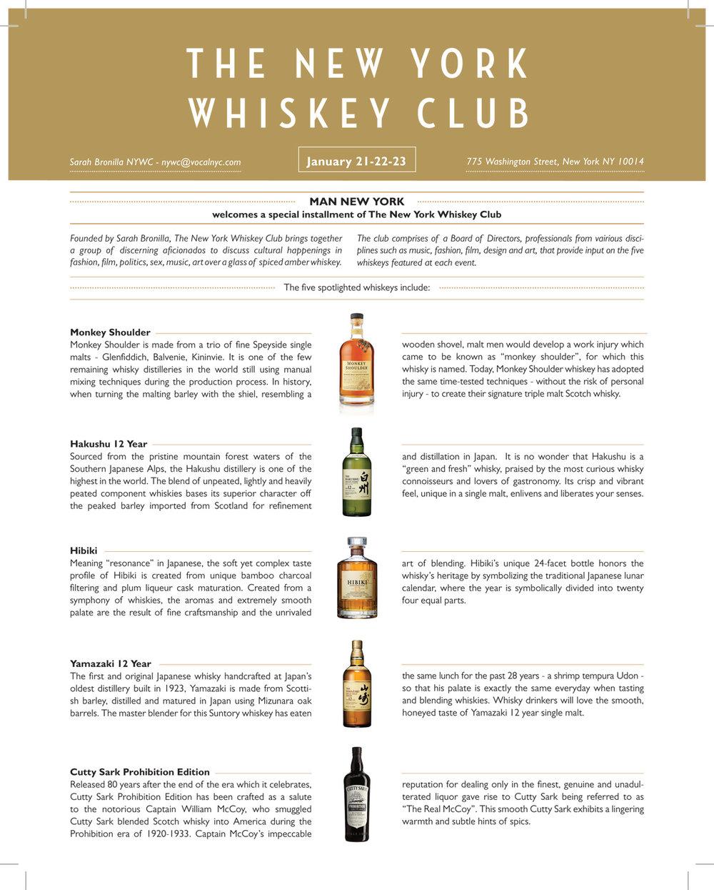 New York Whiskey Club
