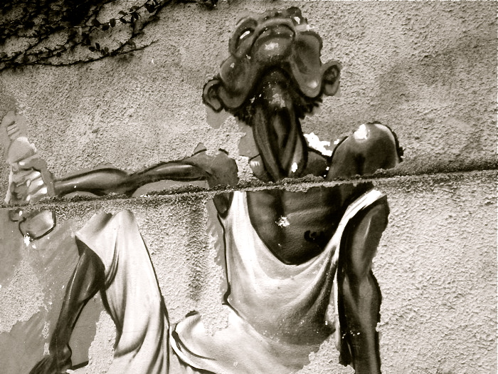 This one reminds me of Ernie Barnes's work... Santa Teresa, RJ.