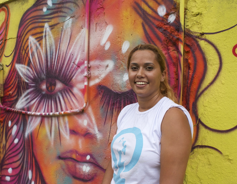 Founder and CEO of Rede Nami.  Political Graffiti Feminist.   Fundador e CEO da Rede Nami.  Graffiti Politico Feminista.