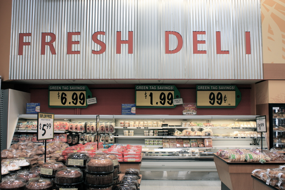 Nothing fresh about this deli that lacks an actual butcher and only provides packaged meat.