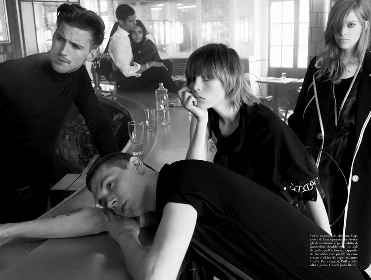 Photo by Steven Meisel for Vogue Italia