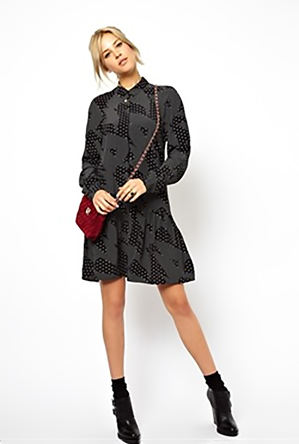 asos shirt dress in mono print short dresses 1500.jpg