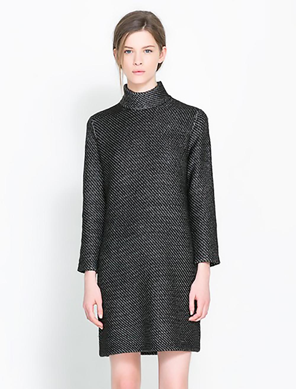 zara funnel collar dress short dresses 1500.jpg