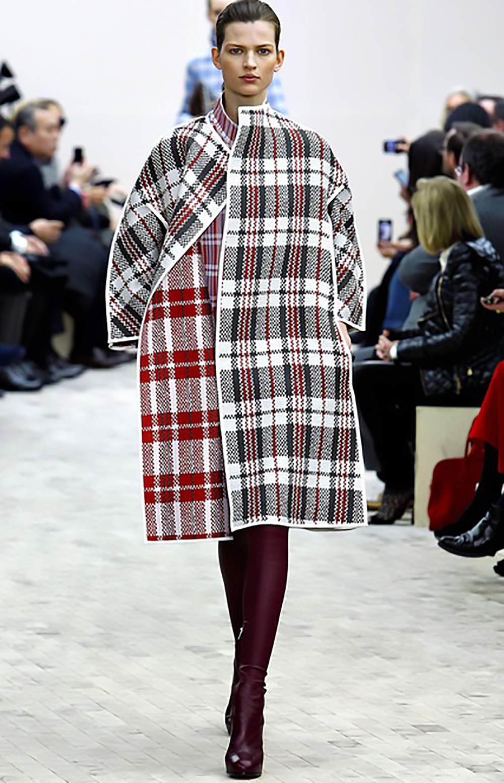 style.com celine fall '13 rtw look 22 plaid 1500.jpg