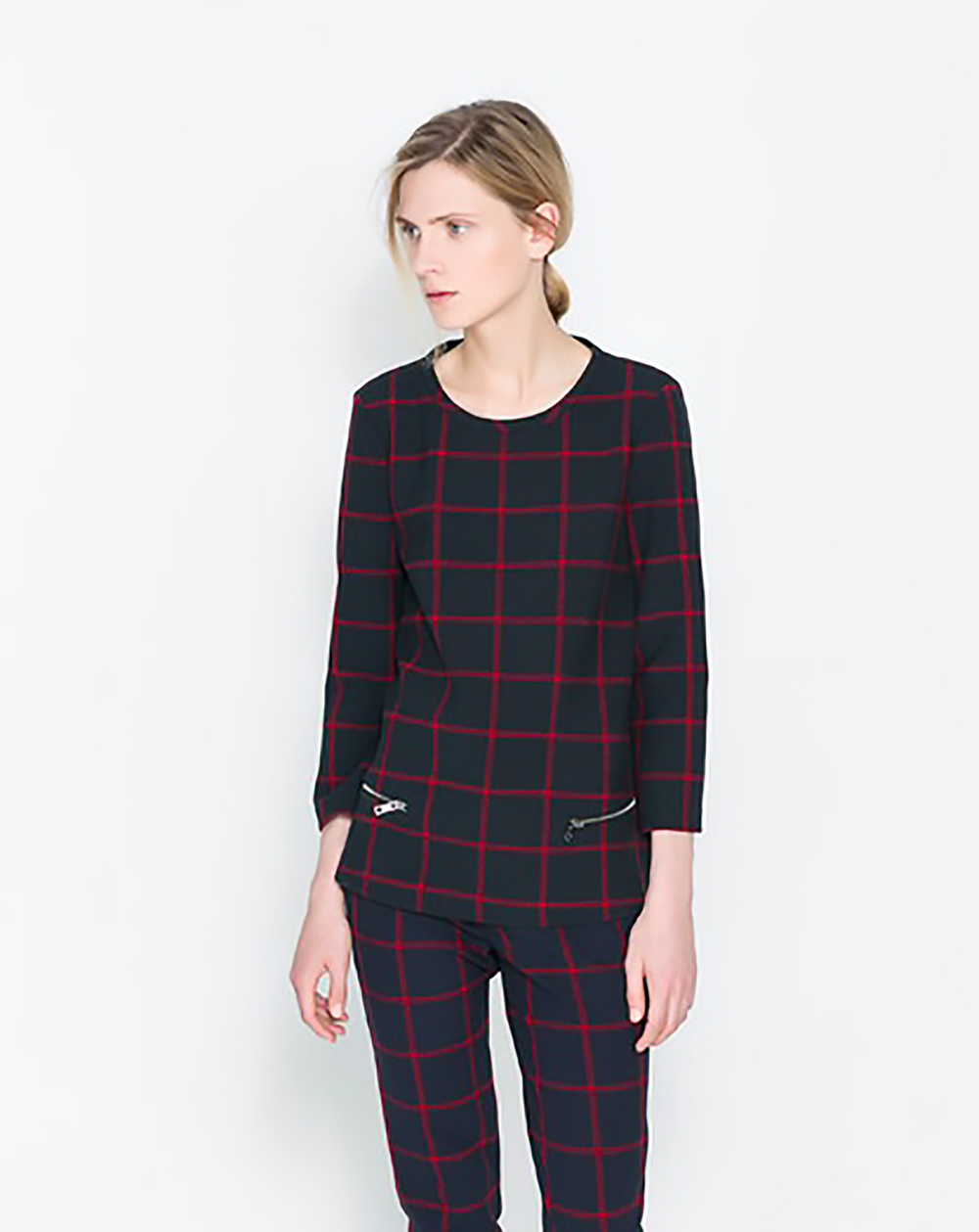 zara checked top with zips mad for plaid 1500.jpg