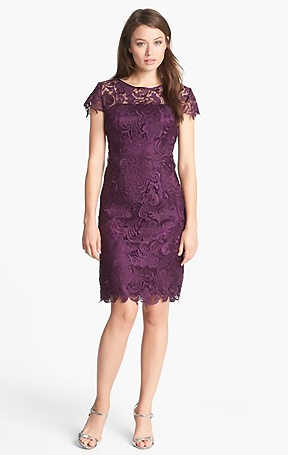 nordstrom patra crocheted venise lace sheath dress holiday party 1500.jpg