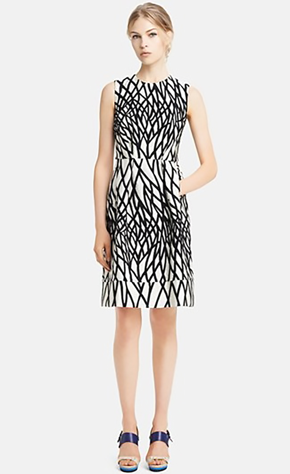 nordstrom marni jacquard cotton blend dress holiday party 1500.jpg