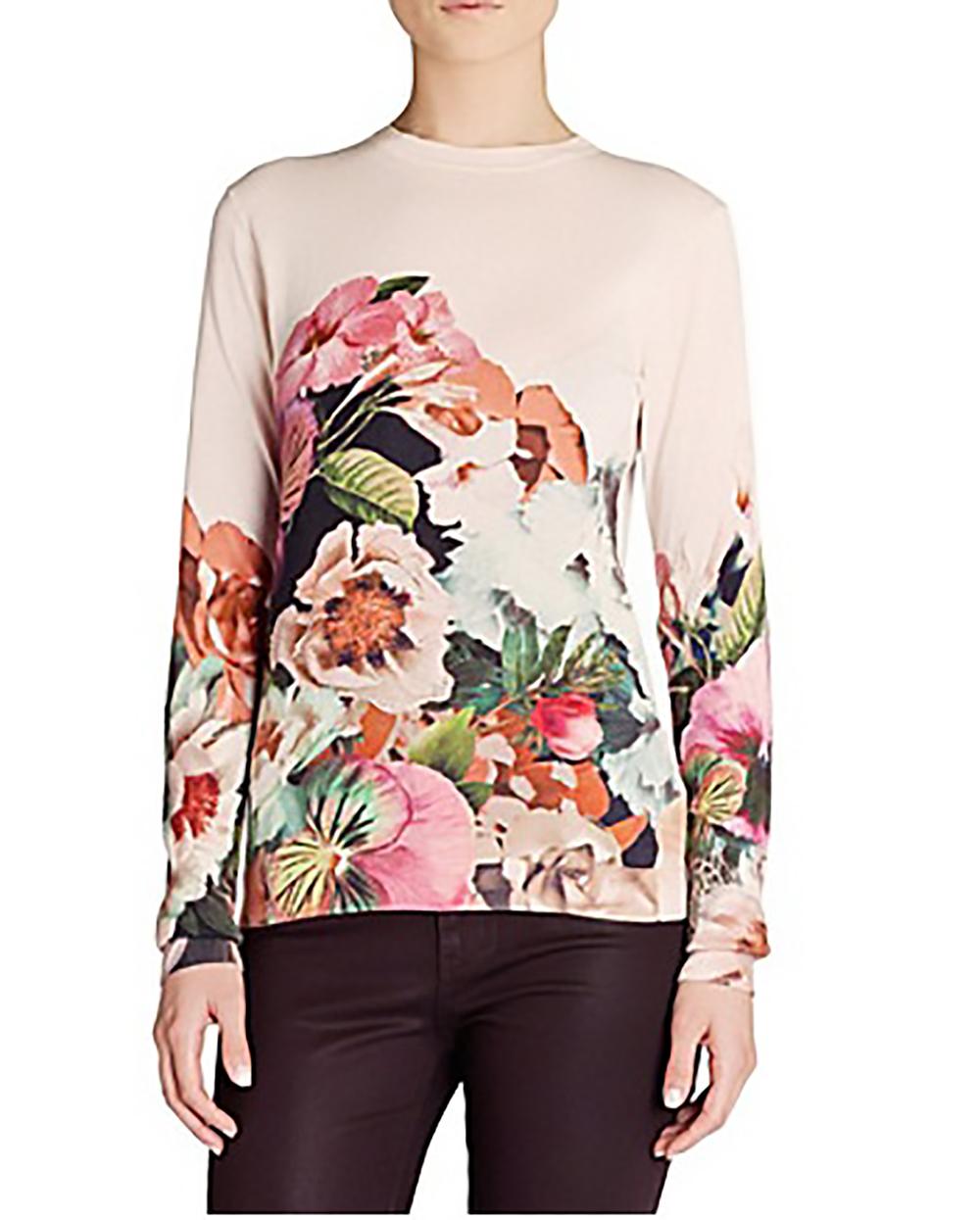 selfridges ted baker tangled floral print jumper winter florals 1500.jpg