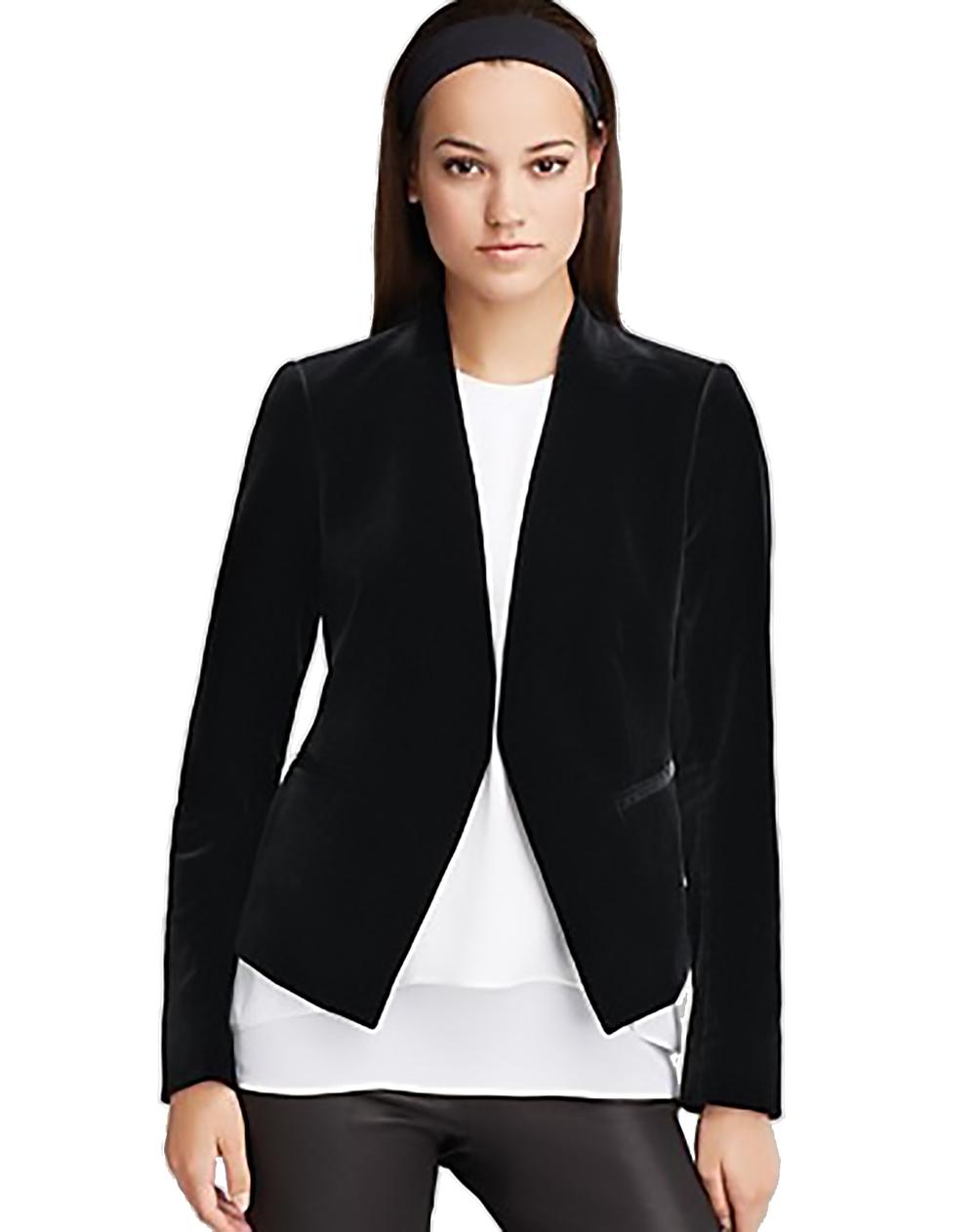 bloomingdales theory lanai matte velvet open front jacket velvet 1500.jpg