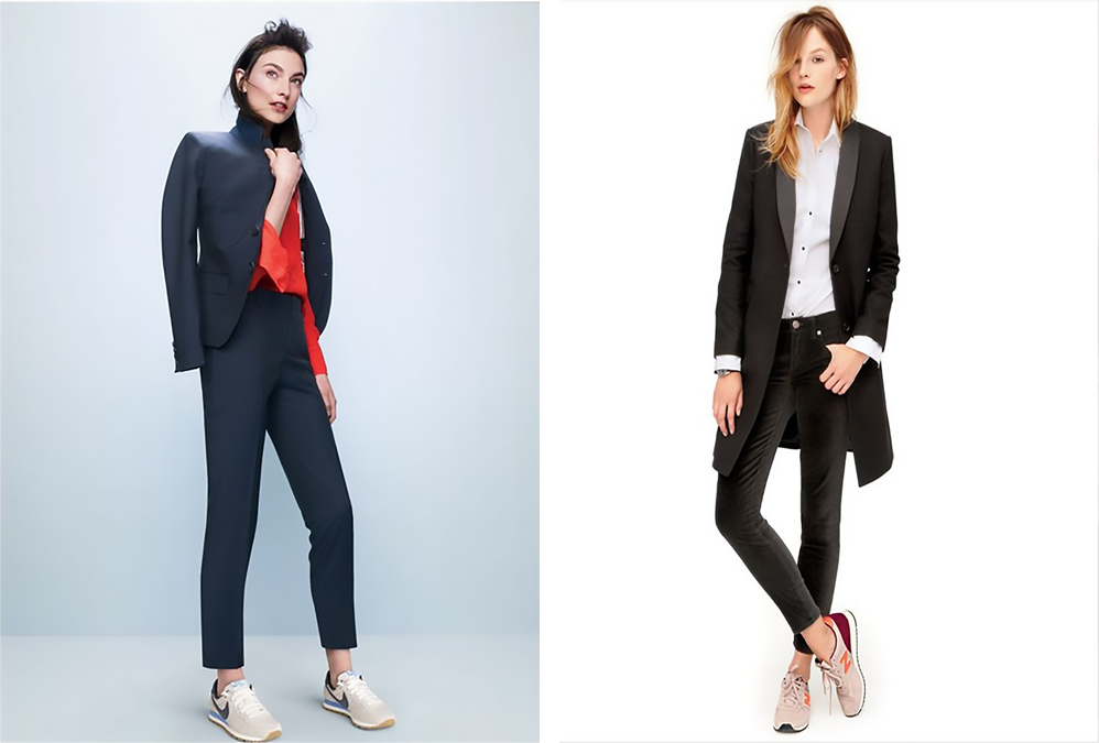 The Work Look — Wearing sneakers (trainers) to (get to) work