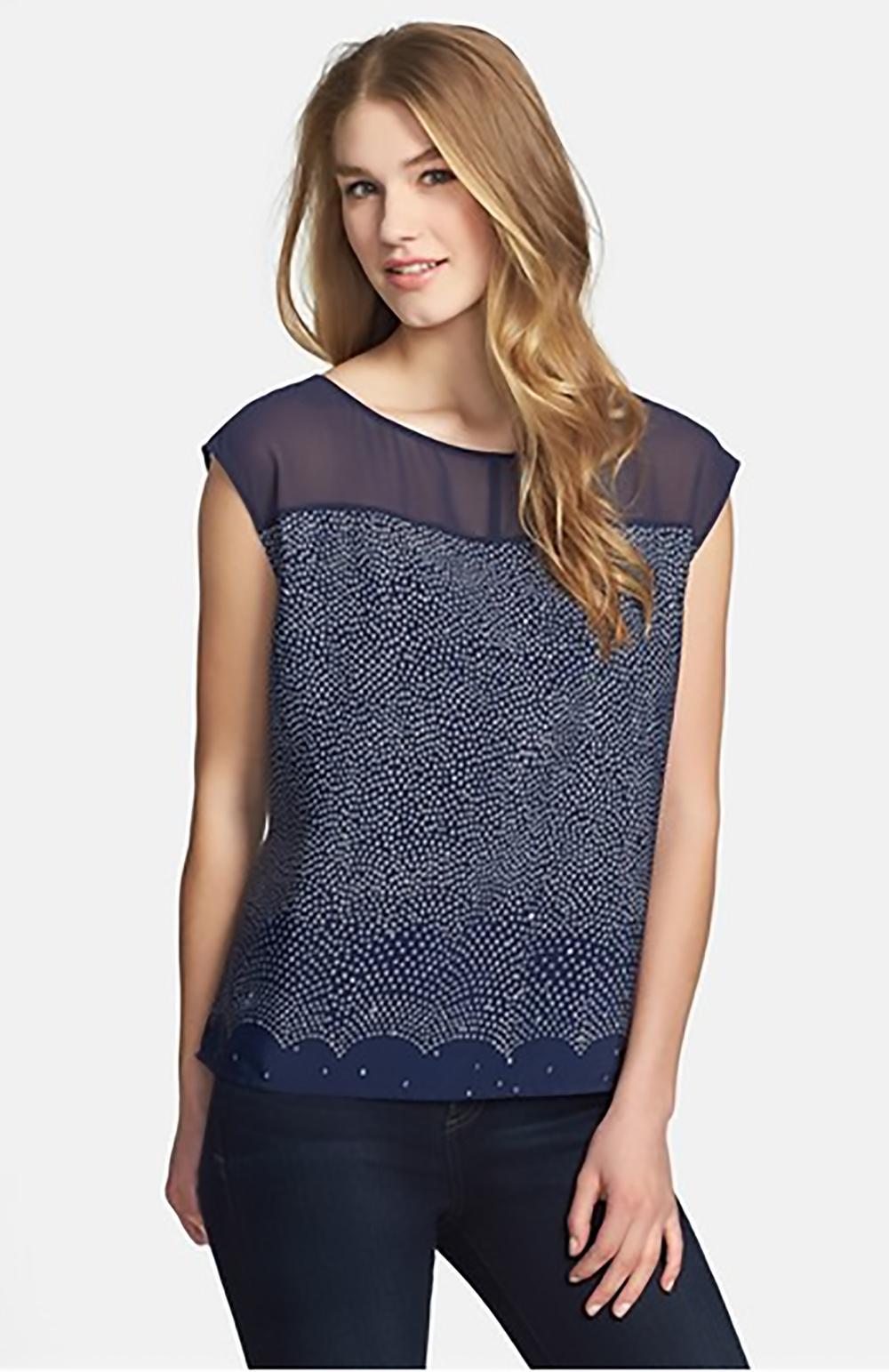 nordstrom sheer yoke drop shoulder blouse by halogen see thru shoulders 1500.jpg