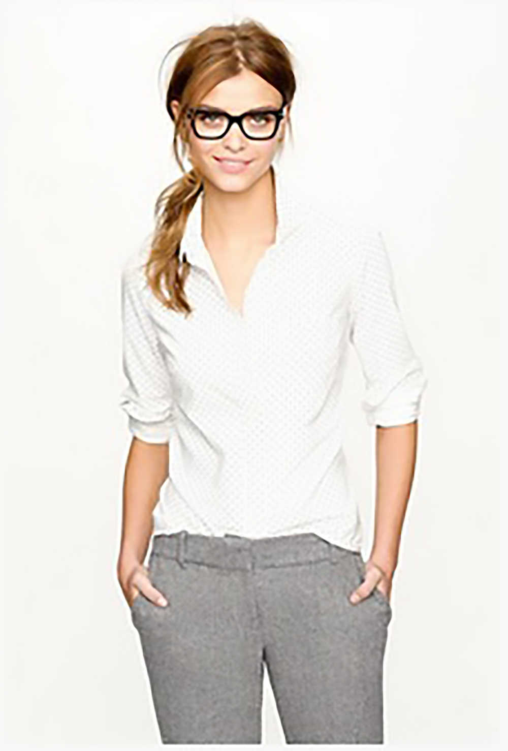 pinterest prep yourself 11 must have takes on the timeless oxford shirt via refinery 29 glasses 1500.jpg