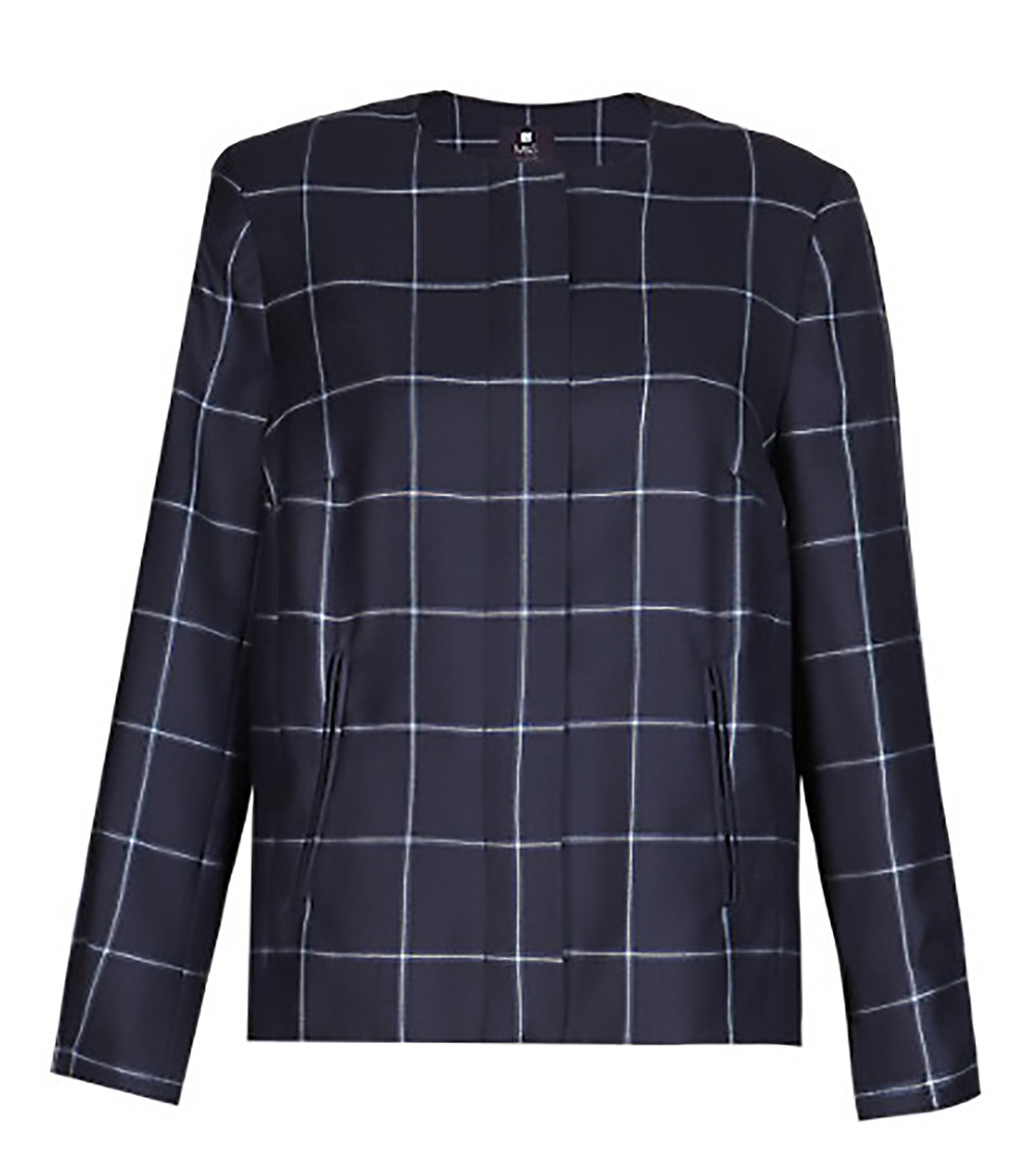 M&S best of british pure new wool checked bomber jacket M&S 1500.jpg