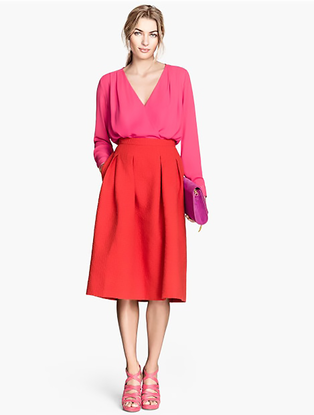 the work look midi skirts at work