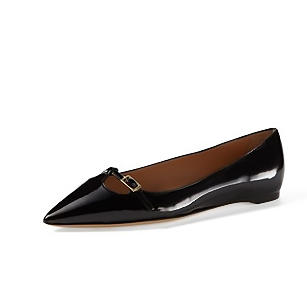 nordstrom salvatore ferragamo patty patent leather flat pointy toes 1500.jpg