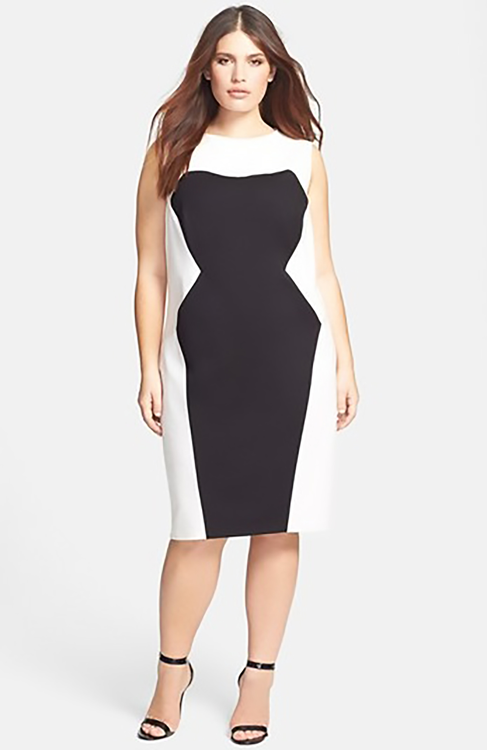 nordstrom ABS by allen schwartz colorblock sheath dress 1500.jpg