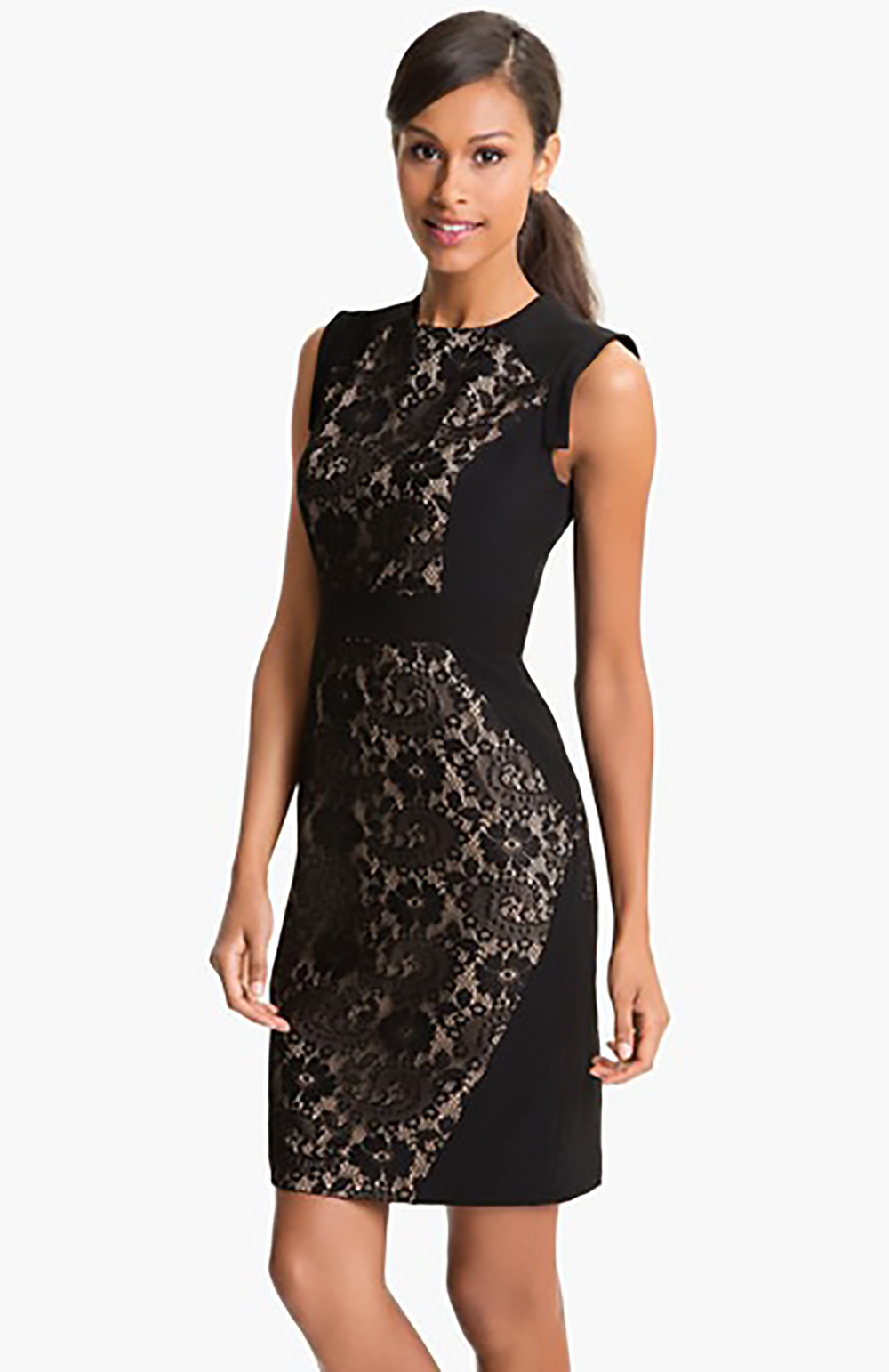 nordstrom adrianna papell lace inset crepe sheath dress sheath dress 1500.jpg